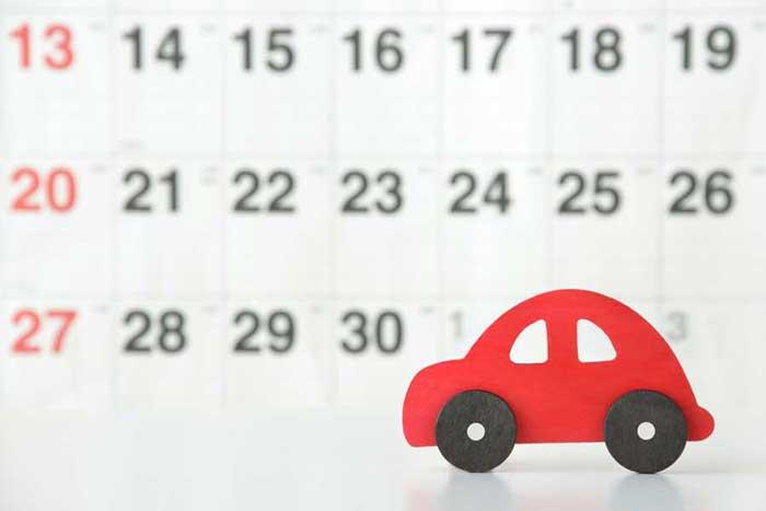 車のリース契約期間は基本的に長期間